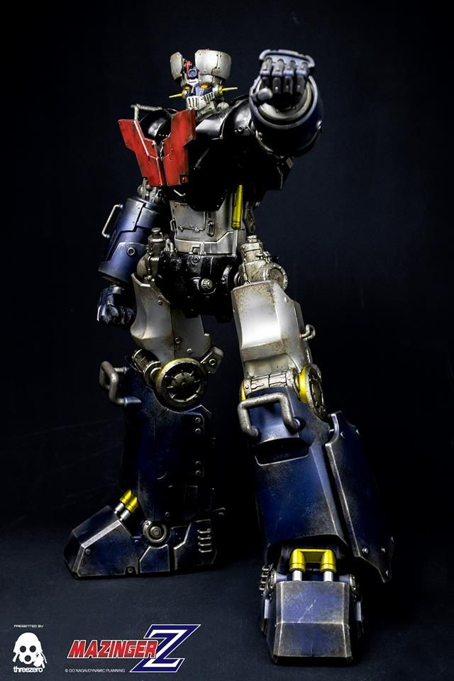 """Mazinger Z full reveal and details at our Facebook page: www.facebook.com/threezeroHK   40cm tall (16"""") and fully articulated figure goes up for pre-order on April 25th, 9:00AM Hong Kong time. Price at www.threezerostore.com is USD 330 (HKD is 2550) with shipping included in the price.   #threezero #GoNagai #Go_Nagai #MazingerZ #Mazinger #Mazinger_Z #actionfigure #collectible #toyphotography #toy #toys #collecting #teaser #comingsoon #hobby #mecha #anime #toypgrahyid #boytoys"""