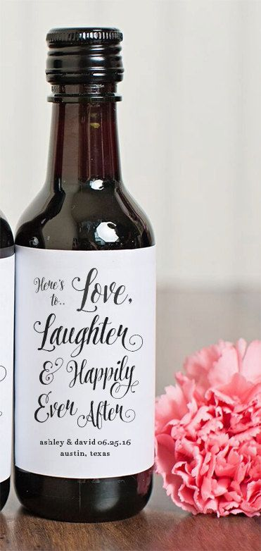Use wine bottles for seating doubles as guest gift Best 20  Wine bottle favors ideas on Pinterest   Bachelorette  . Mini Wine Bottle Favors For Weddings. Home Design Ideas