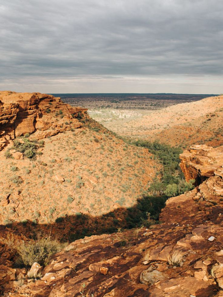 Kings Canyon Rim Walk #Australia