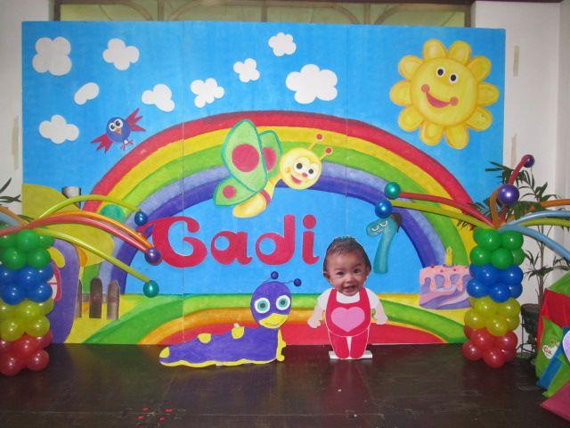 Baby TV Theme party  Raylen 1st birthday  Pinterest