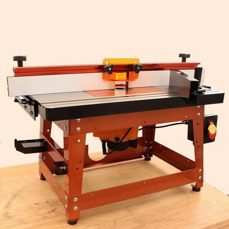 Router Table Kit 27x16in Cast Iron Aluminium Insert