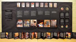 """Another interesting way to display documentation (by Wheelock students, Julianne Coneys & Renee Lamarre) ("""",)"""