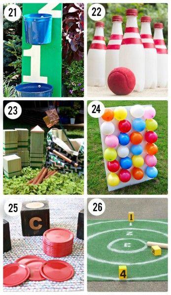 6 DIY Outdoor Games