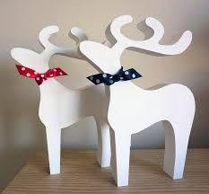 Resultado de imagen para renos navideños