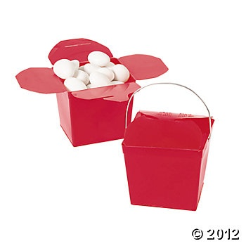 Take Out Boxes - Red
