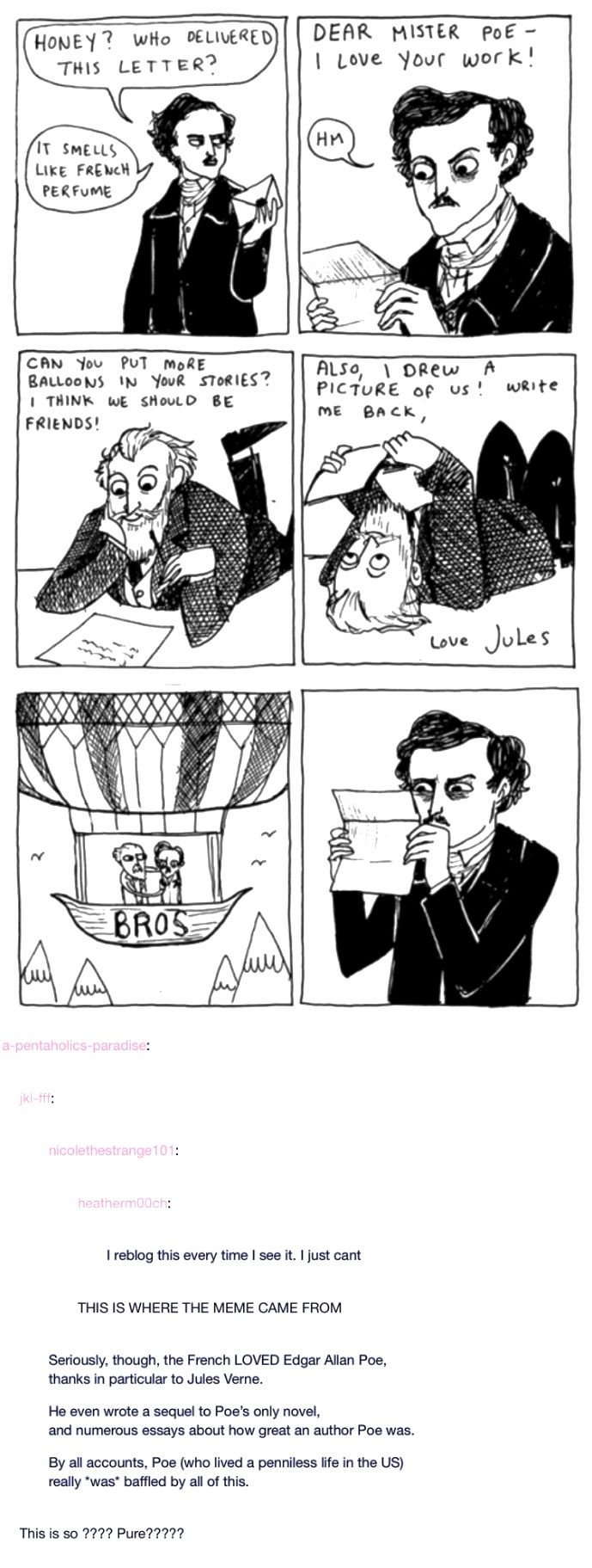 can i say that i **love** when ppl make cute comics abt history