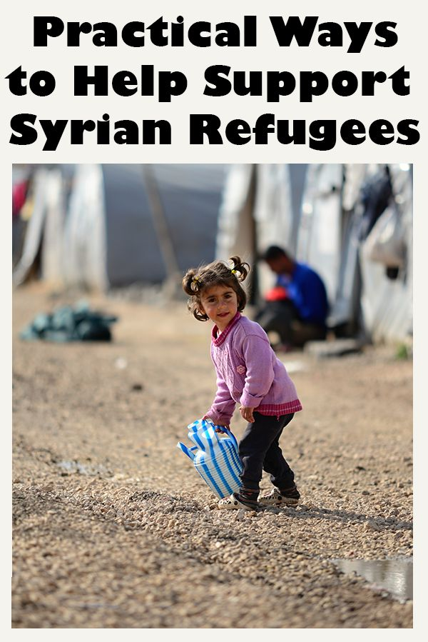 Syrian Crisis: Practical Ways to help Syrian Refugees in Syria and around the world. From International Charities to Grass Root Organizations