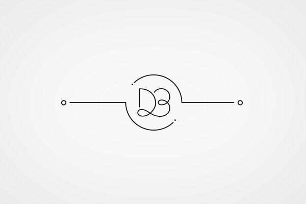 just monogram logo - Google Search