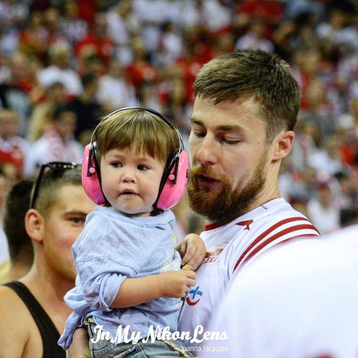 Michał Kubiak z córeczką Polą