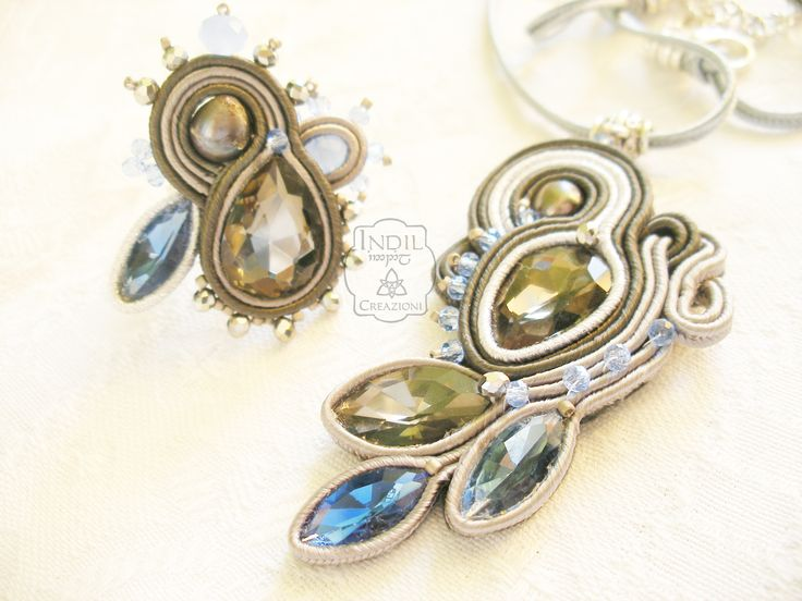 Designed by Indil Creations. #soutache