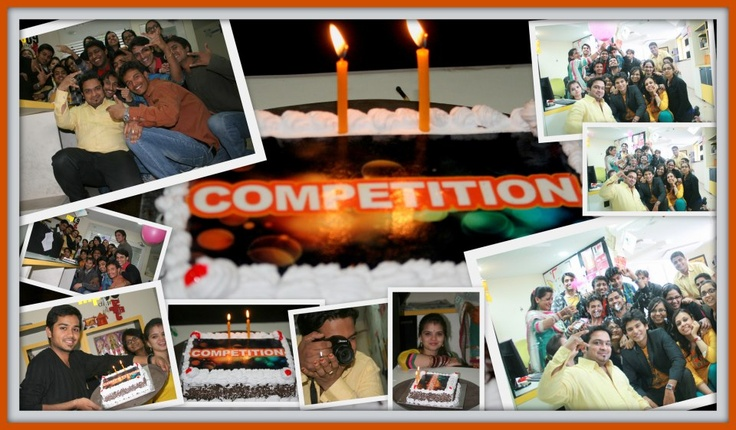 """Yes the cake said """"Competition""""!"""