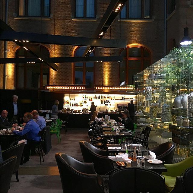 Amsterdam // Conservatorium Brasserie Lounge