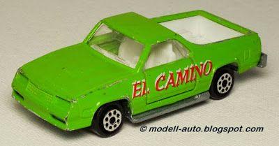 Majorette No 296 Chevrolet El Camino SS