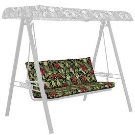Garden Treasures Sanibel Black Tropical Cushion For Glider Af09l03b