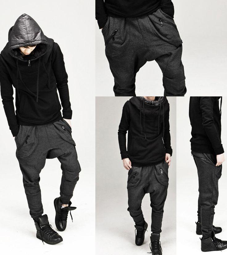 Men's drop crotch harem pants                                                                                                                                                                                 More