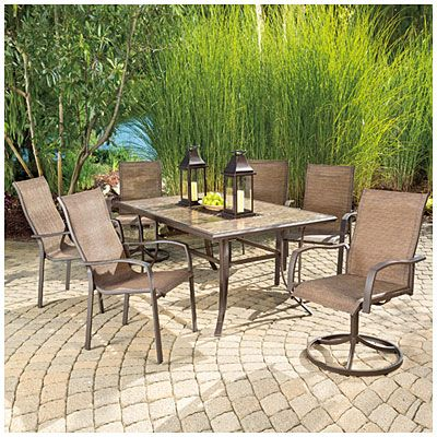 Nice View Wilson U0026 Fisher® Chesapeake Tile Top Dining Table Deals At Big Lots