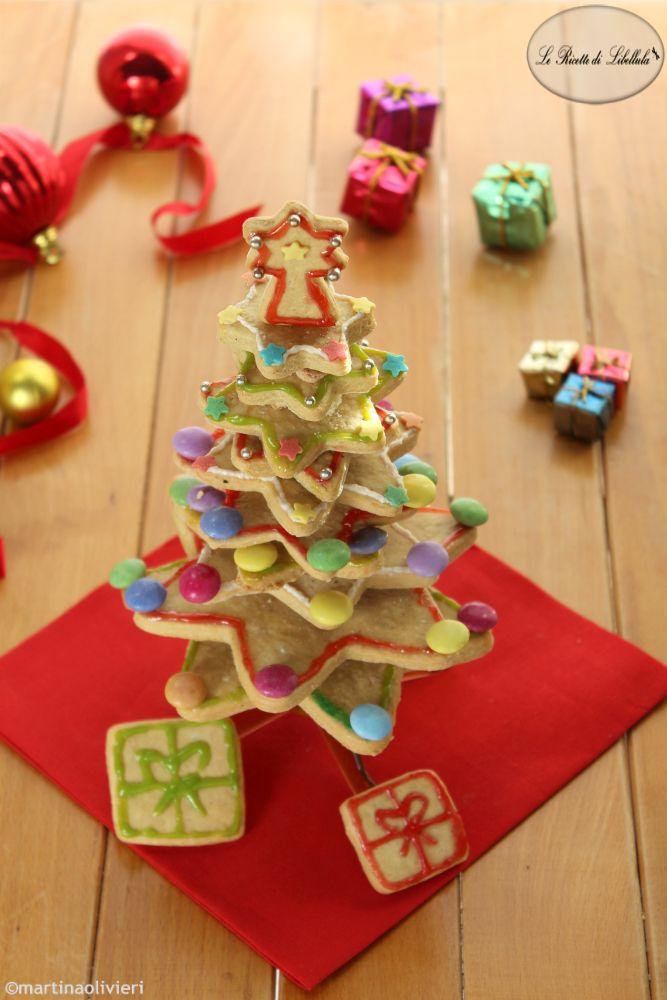 #Albero di #Natale di #biscotti #ricetta #foodporn #gialloblogs #christmas