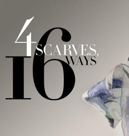 Clothing Ideas, 16 Ways To Wear A Scarf, Nordstrom How To Ties A Scarf ...