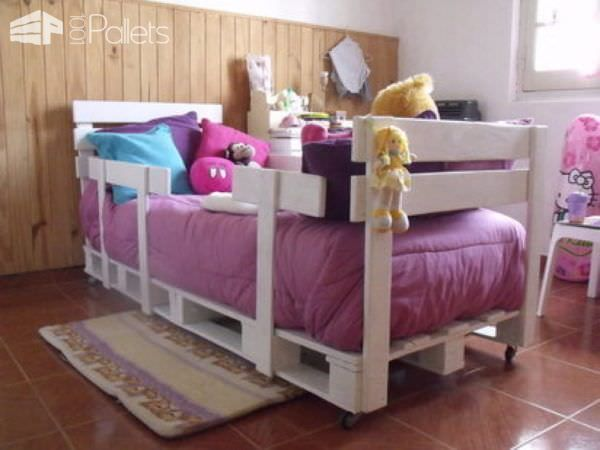 62 Creative Recycled Pallet Beds You ll Never Want To Leave  DIY Pallet  Bedroom. 80 best Bedding images on Pinterest