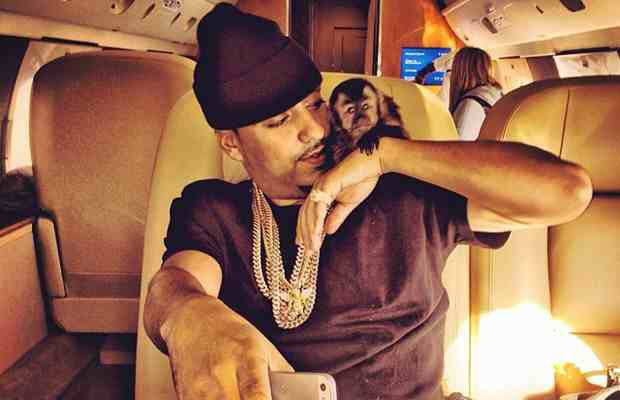 French Montana & his monkey  Julius Ceaser