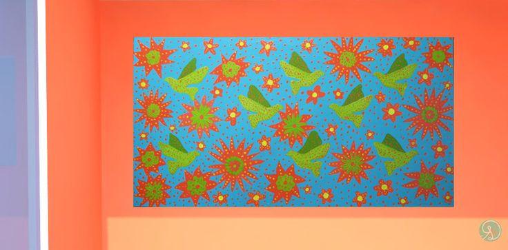 Cuadro Decorativo: realizado en acrílico con soporte madera Trupan de 5,5 mm y de 40 x 76 cm. Precio:$19.500  (Envió a Pta. Arenas por Bus, el resto de las regiones por Chilexpress)