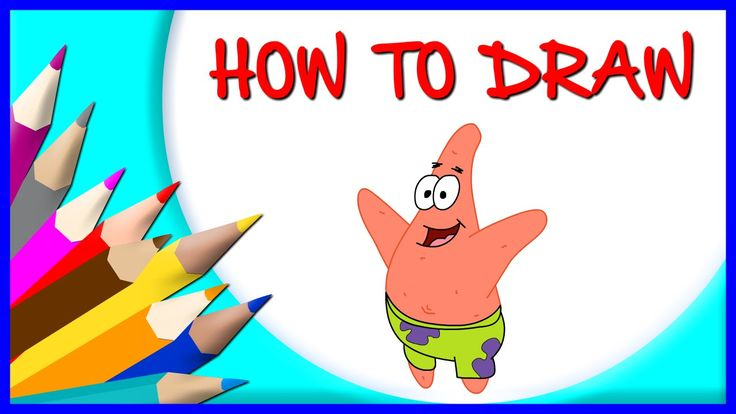 How to Draw PATRICK STAR | Drawing Time Lapse | 853672 HTD