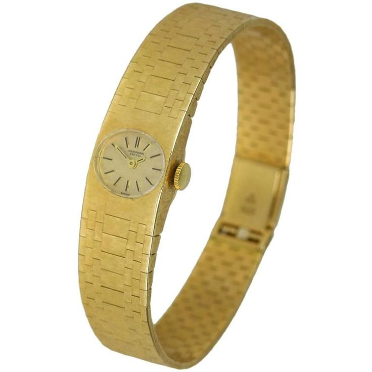 International Watch Company Lady's Yellow gold dress Wristwatch | From a unique collection of vintage wrist watches at https://www.1stdibs.com/jewelry/watches/wrist-watches/