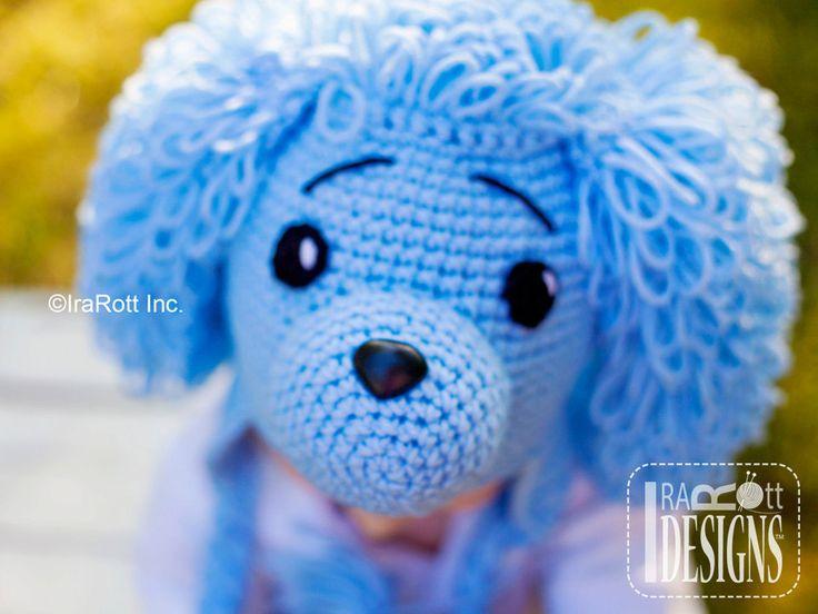 PATTERN Loopy the Poodle Hat Crochet PDF Pattern