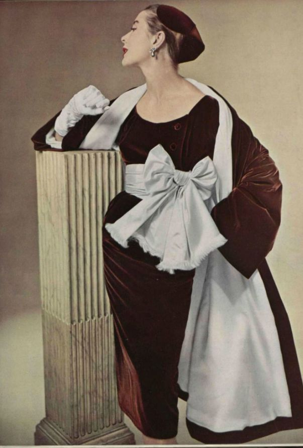 Vintage Fashion by Givenchy 1952