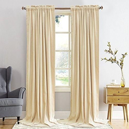 Size 52 By 63 Inch 2 Panels 1 Fabric Balichun Blackout Curtain Selects Shading Fabric Of High Quality Uses Th Drapes Grommet Thermal Curtains Curtains