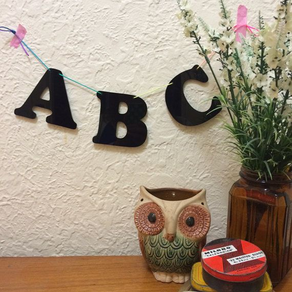 Made to Order Large Individual Acrylic Letters 13 by morganandjane, $4.50 each  https://www.etsy.com/au/listing/194901331/made-to-order-large-individual-acrylic?ref=shop_home_active_1