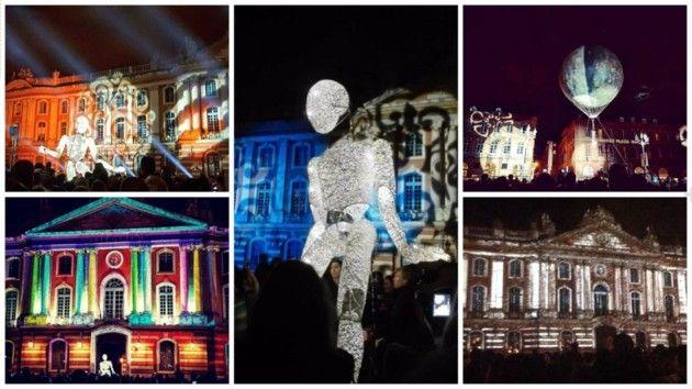 [En images] Carton plein pour le spectacle de cirque Toulouse en Piste, place du Capitole