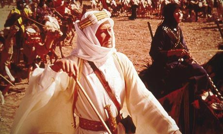 Peter O'Toole in Lawrence of Arabia: 'There are no intelligent epics like this today.'