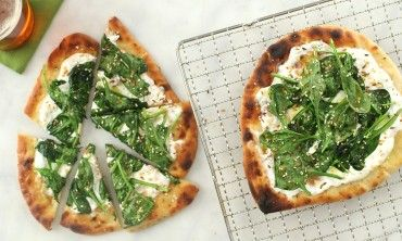 Video: Spinach and Yogurt Flatbread | Martha Stewart