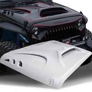 TOPFIRE Fury Hood for Jeep Wrangler JK and Unlimited