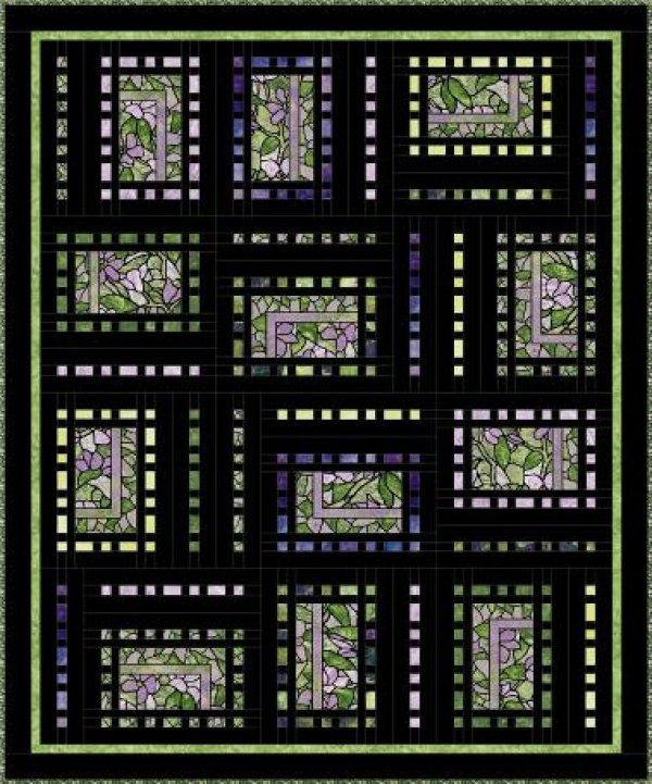 Quilt Pattern Using Focus Fabric : 34 best images about Quilts I d like to Make II on Pinterest Maze, Patterns and Blueberry pies