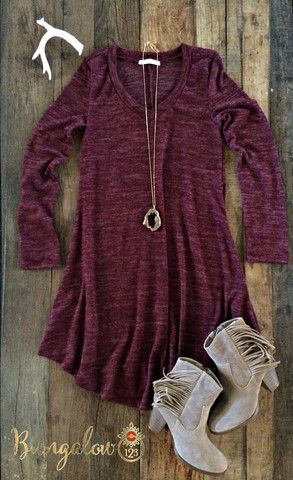 Great lightweight knit t-shirt dress in Charcoal Gray. Straight fit with crew neck and short sleeves. Extremely comfortable! Wear this with leggings and a vest or cardigan for extra coverage in cooler