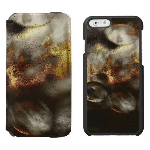 Gold and Silver Star Dust Effect / Incipio Watson™ iPhone 6, 2-in-1 Wallet Case + Interior Case! #fomadesign