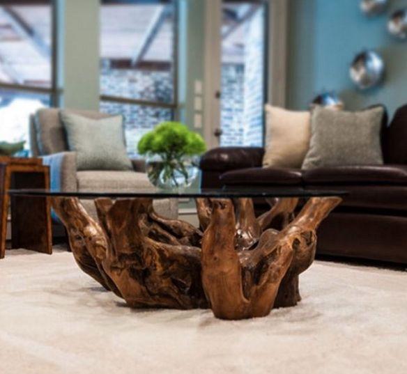 base para mesa de tronco de árvore                                                                                                                                                      Mais