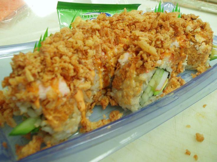 Kroger crunchy sushi roll get in my belly pinterest