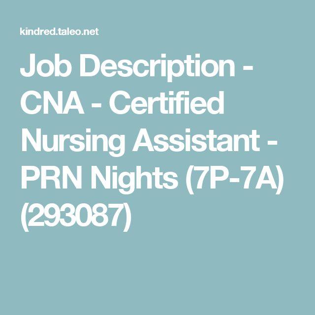 The 25+ best Medical assistant job description ideas on Pinterest - cna job description