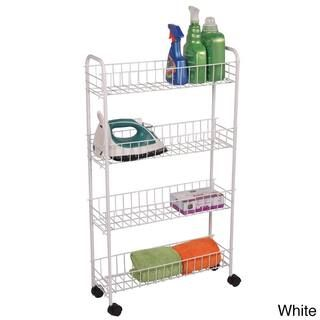 4-tier Rolling Bath Storage Cart | Overstock.com Shopping - The Best Prices on Richards Homewares Other Bath Accessories