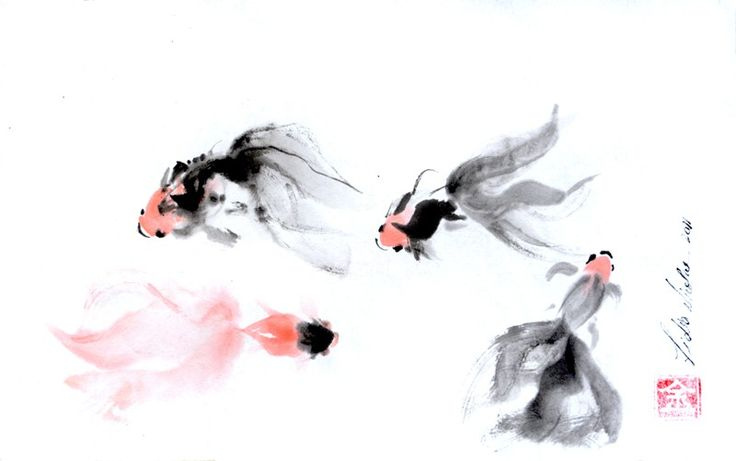 THE DANCE 2011 chinesse ink on rice paper, 20x28 cm