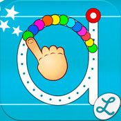 Writing Wizard - Kids Learn to Write Letters ($0.99 introductory price) Writing Wizard is designed to help every child learn how to trace through a system carefully designed to maintain motivation. The app is fully customizable to suit every child's needs, and lets you check their progress through a system of reports and profiles. From the developers of the awesome app Word Wizard!
