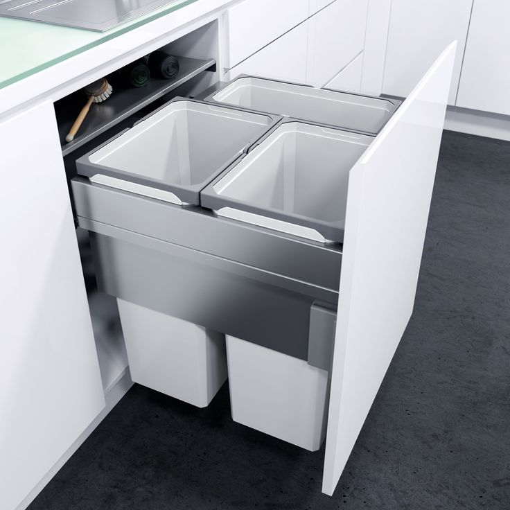 High Quality The Best Built In Bins And Recyclers For Kitchen Cupboards