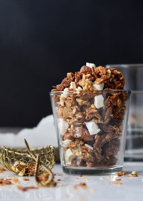 Bring a taste of the tropics to breakfast with coconut oil  and mango puree in this Crunchy Vegan Granola mix.