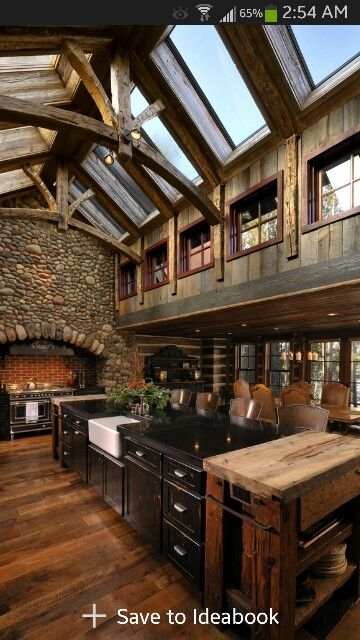 Rustic, farm style kitchen