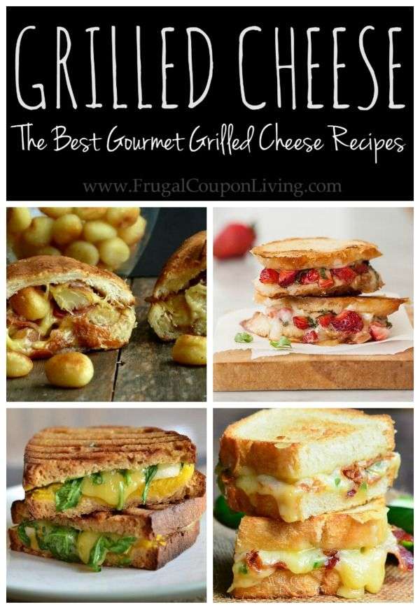 Grilled Cheese Recipes - ideas for some of the best gourmet sandwiches on the web!