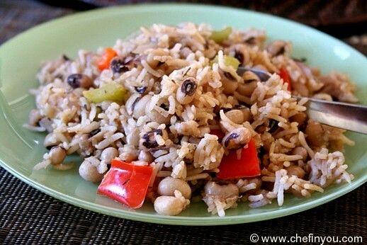 Hoppin John recipe   Black eyed peas recipe   New Year Good Luck ...