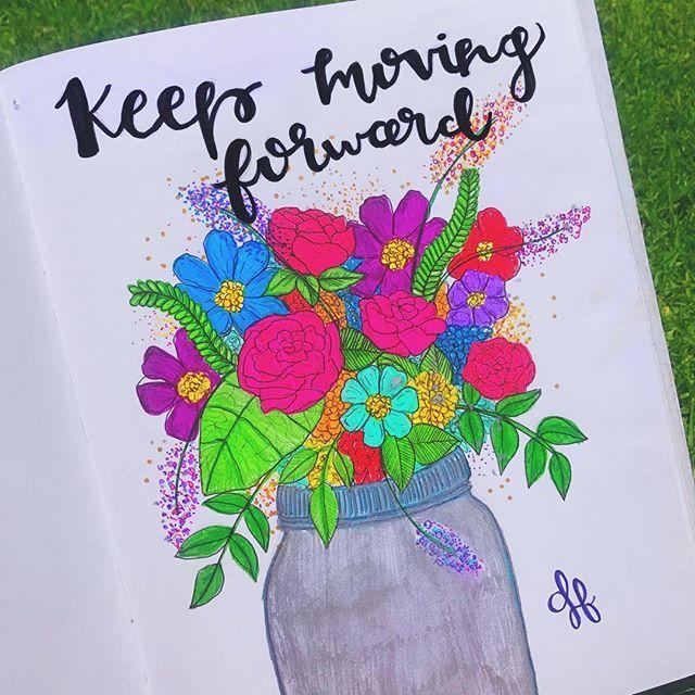 El domingo fue un día lindo. Los días lindos dibujo flores.